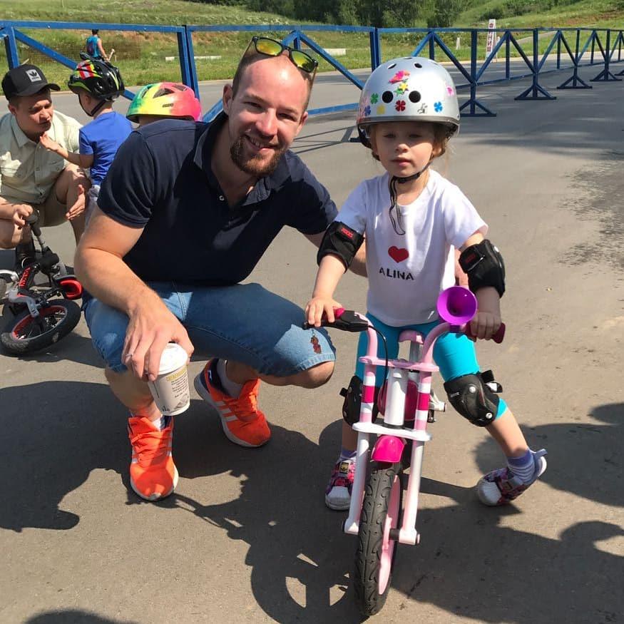Обучение езде на велосипеде